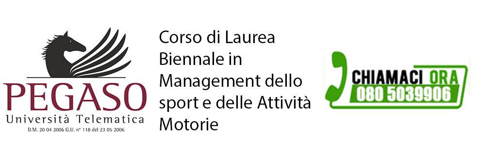 Corso di Laurea Magistrale Biennale in Management dello Sport e delle Attività Motorie