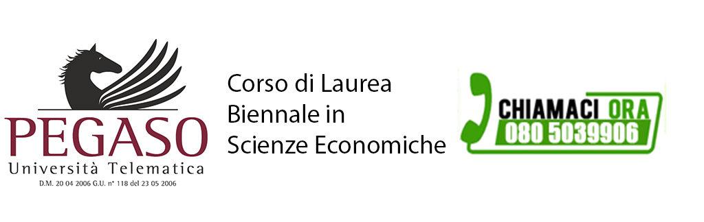 Corso di Laurea Magistrale Biennale in Scienze Economiche