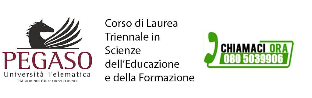 Corso di Laurea Triennale in Scienze dell'Educazione e della Formazione
