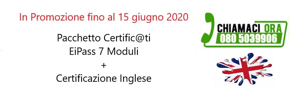 Pacchetto Certificati | EiPass 7 moduli + Certificazione Lingua Inglese