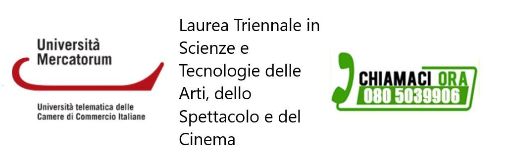 Laurea Triennale in Scienze e Tecnologie delle Arti, dello Spettacolo e del Cinema