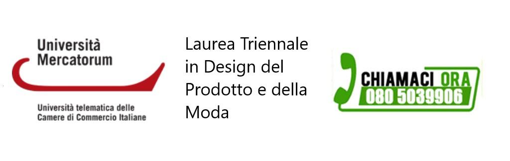 Laurea Triennale in Design del Prodotto e della Moda