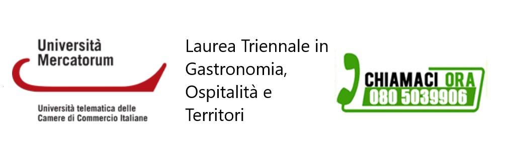 Laurea Triennale in Gastronomia, Ospitalità e Territori