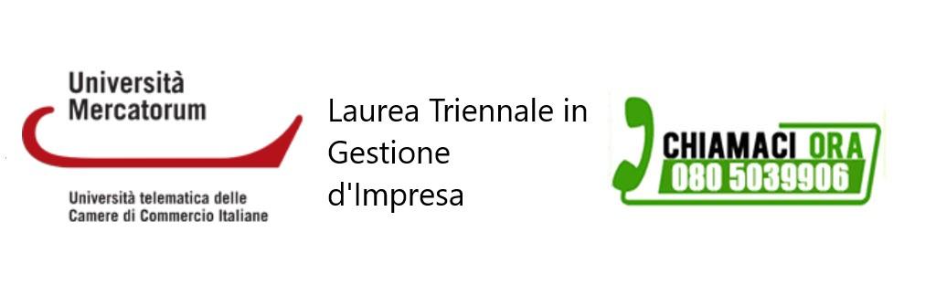 Laurea Triennale in Gestione di Impresa