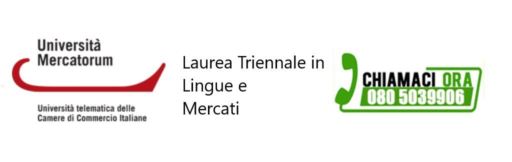 Laurea Triennale in Lingue e Mercati