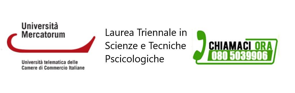 Laurea Triennale in Scienze e Tecniche Psicologiche